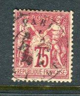 TB N° 71 Oblitéré - 1876-1878 Sage (Type I)
