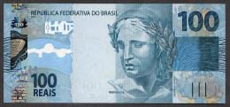 100 Réais Juin 2012 Pick 256b - UNC - C340 Série CF 050394945 - Brasilien