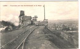 Li�ge - Panorama pris des charbonnages de La Haye - 2 scans