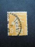 FRANCE Type Semeuse Camée N°158 Oblitéré - 1906-38 Semeuse Camée