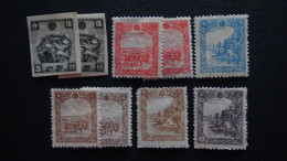 China - Mandschukuo - 1944 - Mi:147-52**MNH - Look Scan - 1932-45 Mantsjoerije (Mantsjoekwo)