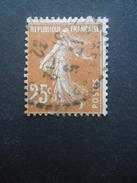 FRANCE Type Semeuse Camée N°235 Oblitéré - 1906-38 Säerin, Untergrund Glatt