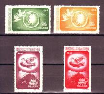 1952   CINA Conf Pace  Catalogo Yvert Et Tellier 959/62  Val  MNH** - 1949 - ... République Populaire