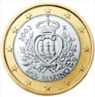 D) SAN MARINO 1 EURO DEL 2008 FDC UNC - San Marino