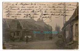 Annappes, Carte Photo 1919, Maison Détruite (Villeneuve-d´Ascq), Scann Recto-verso - Villeneuve D'Ascq