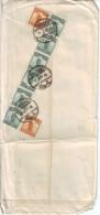 1923  CINA    Francobolli 181 E 184 Su Busta Viaggiata  SHANGHAI  _ N:YORK - China