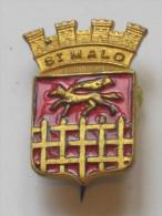 Ancien Insigne - St MALO  ***** EN ACHAT IMMEDIAT **** - Advertising (Porcelain) Signs