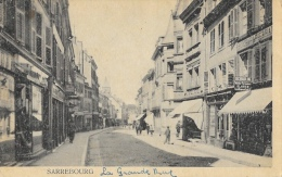 Sarrebourg - La Grande Rue (à Vérifier) - Sarrebourg