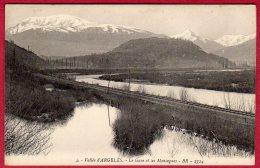 65 ARGELES-GAZOST - Vallée D'ARGEL7S - Le Gave Et Les Montagnes - Argeles Gazost