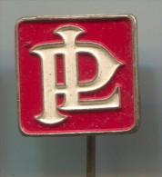 PL PANHARD - Car, Auto, Logo Pin Badge Car 1960s France - Pin's