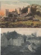 45Hy    83 Hyeres Environ Lot De 5 Cpa Du Vieux Chateau - Hyeres