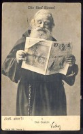 AK   JUDAIKA    JUDAICA   JEW   1902 - Judaisme
