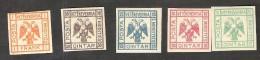 ALBANIA, 1921, Set, MH - Albania