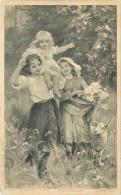 ILLUSTRATEUR FRED MORGAN, PINX Photogravure G.m.r-b Fec. Depose Series 6175 - Künstlerkarten