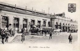 CAEN GARE DE L ETAT 14 CALVADOS - Caen