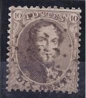 Belgium1863: Michel 11used - 1863-1864 Medallions (13/16)