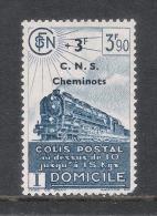 COLIS POSTAUX N°192 NEUF* TRACE DE CHARNIERE - Neufs