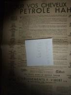 Vers 1900 Image D'EPINAL Réclame PETROLE HANN ,37,5 X 29 Cm (Un Joli Cadeau) Texte Et Dessins Benjamin Rabier - Pubblicitari