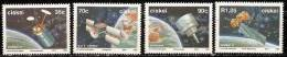 South Africa Ciskei 1992 Space Year Stamps Satellite Astronomy - Ciskei