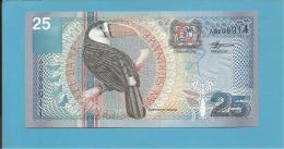 SURINAM - 25 GULDEN - 01.01.2000 - Pick 148 - UNC. - 2 Scans - Surinam