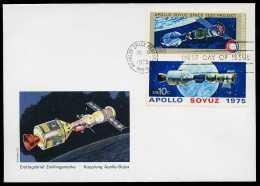 33717) USA - Michel 1779 / 1780 - FDC - Vom 15.Jul 1975 - Apollo Soyuz - Enveloppes évenementielles