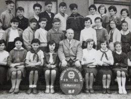 Hungary - Classmates -  Budapest Fövárosi Általános Iskola  1963 -   School Group  -Class VI B   D124034 - Photographs