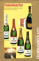 Grand Vin D'Espagne '' CAVAS CODORNIU ''  6 Cartes Dans Une Pochettes . - Alcools