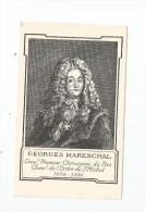 Cp , Célébrité , Georges MARESCHAL , Premier Chirurgien Du Roi , 1658-1736 , Publicité : Lab. Substantia , 2 Scans - Famous People