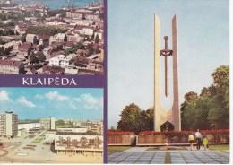URSS  Lietuva   Lithuania  Lietuvos TSR , 1981 , Klaipeda ,  Postcard - Lithuania