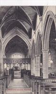 WARMINGTON CHURCH INTERIOR - Northamptonshire