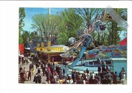Fête Foraine Exposition Nationale Suisse Lausanne 1964 - Secteur Du Port Les Attractions Manège Animation - Games & Toys