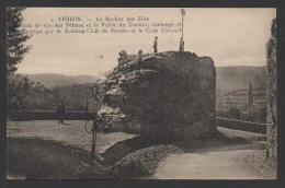 DF / 48 LOZERE / VEBRON / LE ROCHER DES FÉES, POINT DE VUE SUR VÉBRON ET LA VALLÉE DU TARNON / CIRCULÉE EN 1932 - France