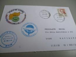 ENVELOPPE DU BATAILLON DE PARACHUTISTE ALPINS ITALIEN MISSION ISAF ITALFOR KABUL AFGHANISTAN 2002 - Documents