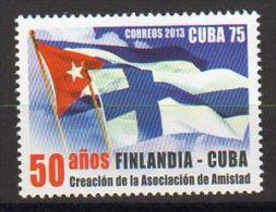 TIMBRE CUBA 2013 AMITIÉ FINLANDE CUBA AMISTAD FINLANDIA CUBA - Sellos