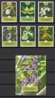 SERIE Y HB CUBA 2013 FLORES ORQUIDEAS - FLEURS ORCHIDÉES - Orchidées