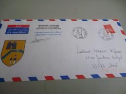 ENVELOPPE ILLUSTREE CHEF DE MISSION OBSERVATEURS FRANCAIS MISSION MONUIK/UNIKOM Par La Valise Diplomatique - Documents