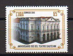TIMBRE CUBA 2013 TEATRO THÉÂTRE SAUTO MN - Teatro