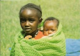 KENYA  KENIA   Little Kikuyu Girl  Nice Stamps - Africa