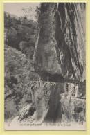 06-Gorges Du Loup - Le Couloir De La Cascade - Non écrite  - 9 X 14  - - Frankreich