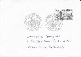 TIMBRE N° 2253 FRANCE  -  1ER JOUR  -  1983  -  BRANTOME EN PRERIGORD PERIGUEUX - TARIF DU 6.1.82 AU 30.5 83 - 1980-1989