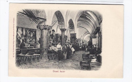 CPA TURQUIE - CONSTANTINOPLE - Grand Bazar - ( Constantinople Pas Dans Libellé ) - TB ANIMATION Intérieur MAGASIN - Turquie
