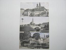 Trzebiatów , Treptow   , Schöne Karte , 2 Scans - Pommern