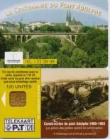LUXEMBURG PHONECARD  -120 UNITS -2/00-USED - Luxemburg
