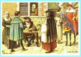 Europa's Erfgoed - 321 - Trafiek Der Aflaten, Leo X, Léon X, Trafic Des Indulgences (Hervorming, Réforme) - Artis Historia
