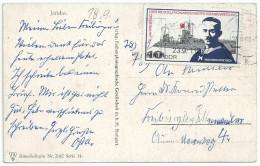 Jordanien Jericho - Künstlerkarte N° 2642 Serie 14. 2 Scans. Gestempelt DDR 23.9.1967 Mi 1309 - Jordanien