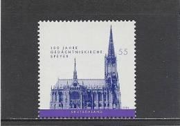 Deutschland / Germany / Allemagne 2004 2415 ** 100 J. Gedächniskirche Speyer - [7] Federal Republic