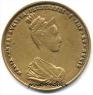 MEDAGLIONE INCORONAZIONE PRAGA MARIA ANNA AUGUSTA 1836 - Royal / Of Nobility