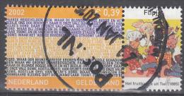 Nederland - Provincievlaggen En Volksliederen - Gelderland - Gebruikt/gebraucht/used - NVPH 2068 Tab Flipje - Periode 1980-... (Beatrix)
