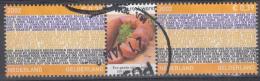 Nederland - Provincievlaggen En Volksliederen - Gelderland - Gebruikt/gebraucht/used - NVPH 2068 Tab Midden Rookworst - Periode 1980-... (Beatrix)