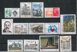 FRANCE 2012 2013  E. Hopper ; H. Queuille;  Fête Du Timbre ; De Gonzague ...   TB - Oblitérés